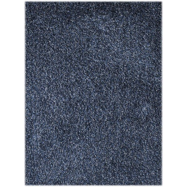 Bright Blue Area Rug by Ebern Designs