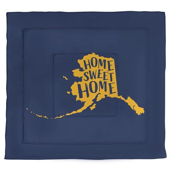 Alaska Home Sweet Single Reversible Comforter