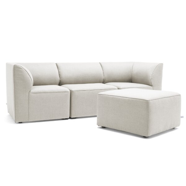 Mobilite Patio 4 Piece Sectional Seating Group by Big Joe