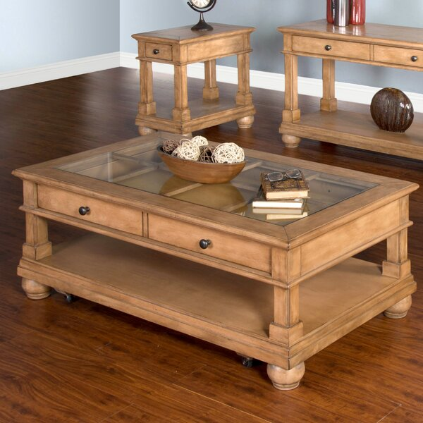 Liddle Solid Wood Coffee Table By Darby Home Co