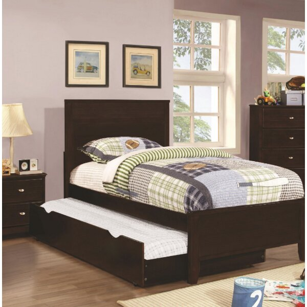 Swenson Panel Bed with Trundle by Harriet Bee