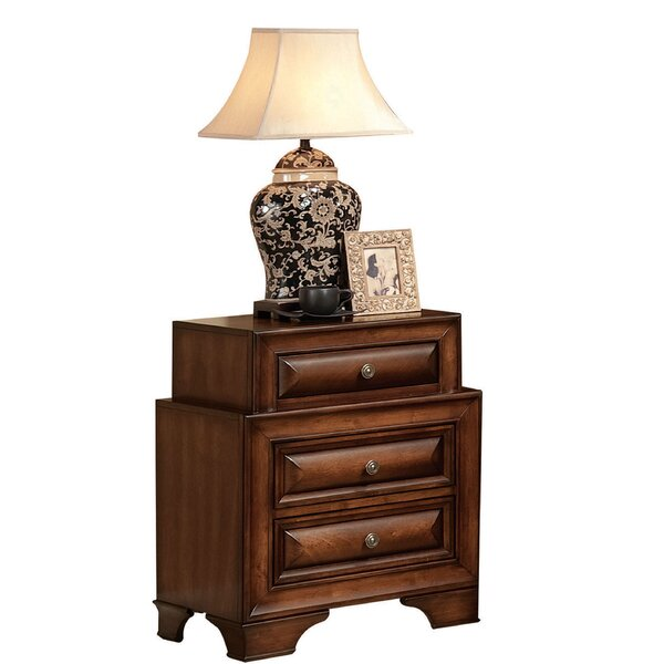 Annalee 3 Drawer Nightstand by Darby Home Co