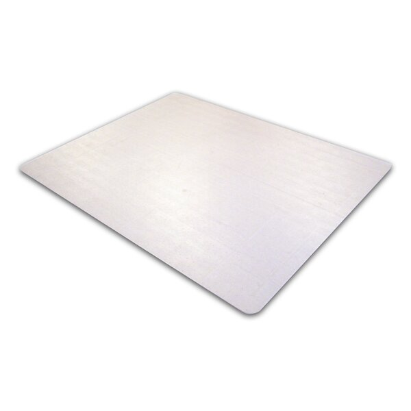 Cleartex Phthalate Free PVC Chair Mat for Low Pile Carpets by Floortex