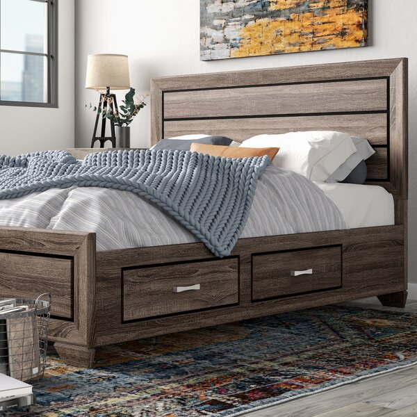 Charleena Storage Standard Bed by Trent Austin Design