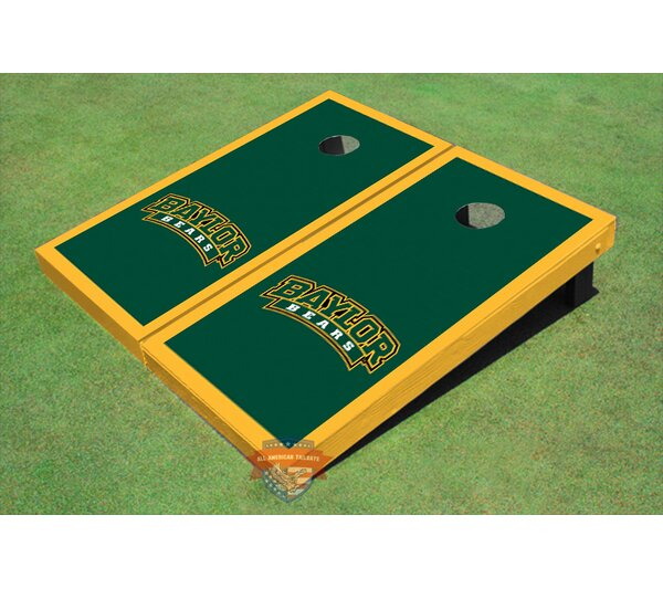NCAA Matching Border Cornhole Board (Set of 2) by All American Tailgate