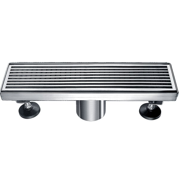 Wheaton River 2 Grid Shower Drain by Dawn USA