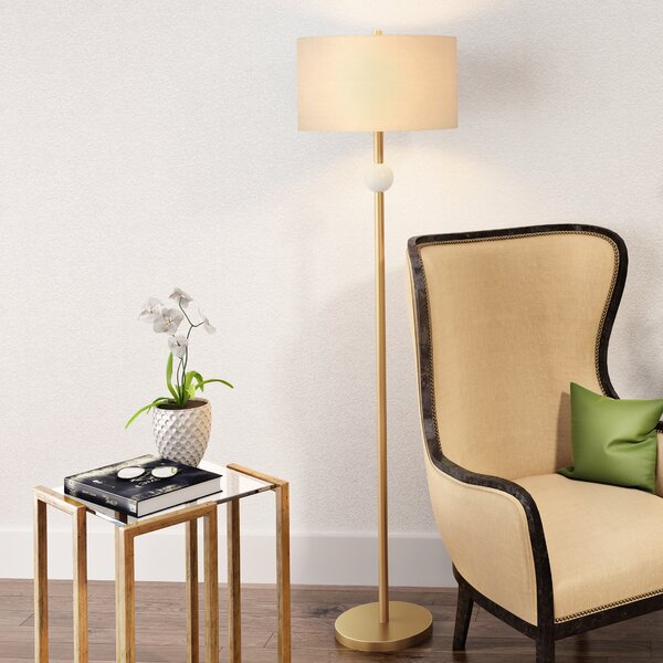 Fennell 63 LED Floor Lamp by Wrought Studio