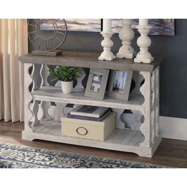 August Grove White Console Tables