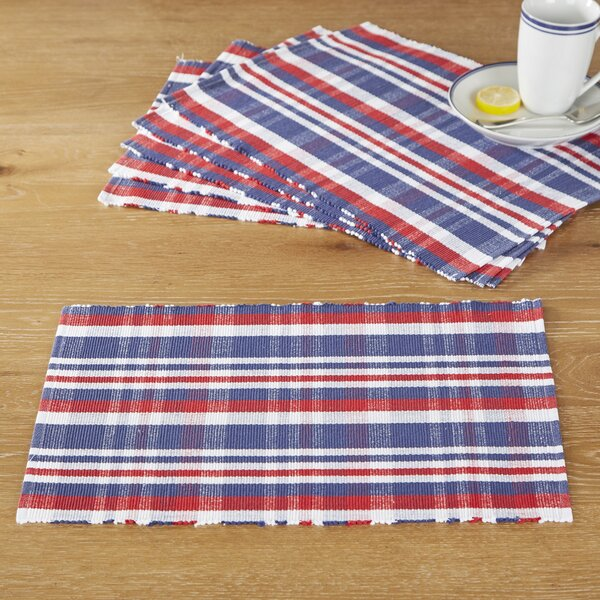 American Plaid Placemats (Set of 6) by Birch Lane™
