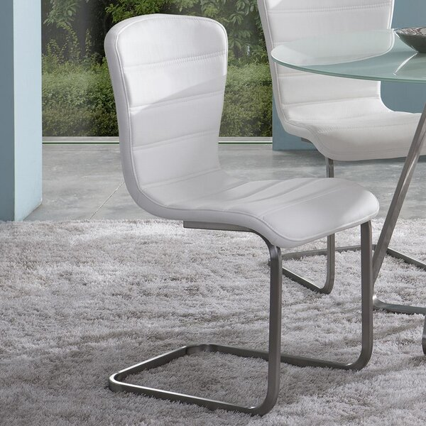 Cameo Upholstered Dining Chair (Set of 2) by Wade Logan