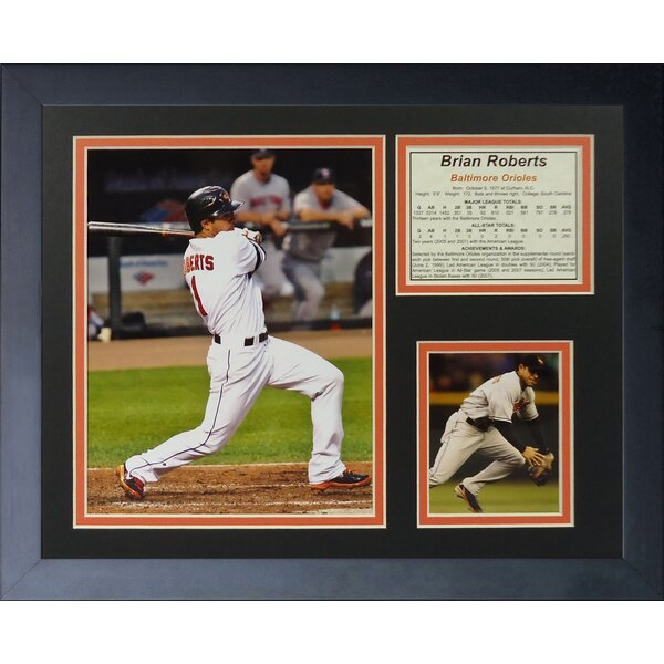 Brian Roberts Framed Photographic Print by Legends Never Die