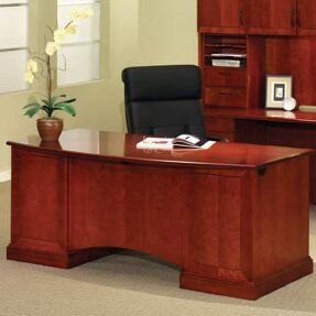 Belmont 9 Drawers Executive Desk by Flexsteel Contract