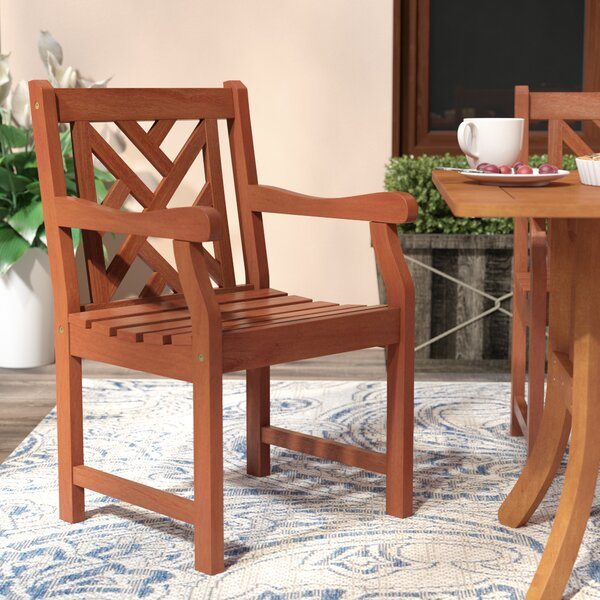 Cotten Patio Dining Chair by Darby Home Co