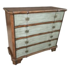 Plotkin 4 Drawer Shaped Front Chest by One Allium Way