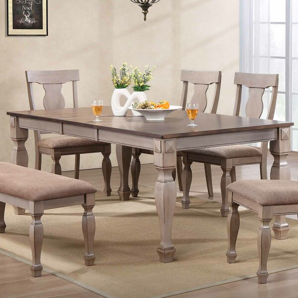 Shields Extendable Dining Table by Winston Porter