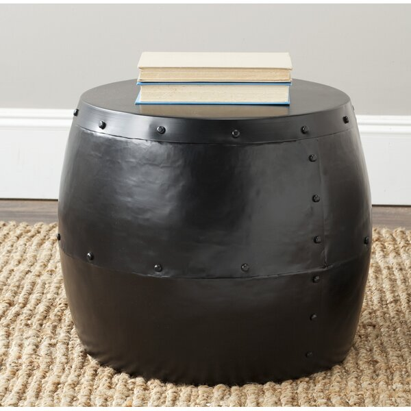 Cerium Drum Stool by Safavieh