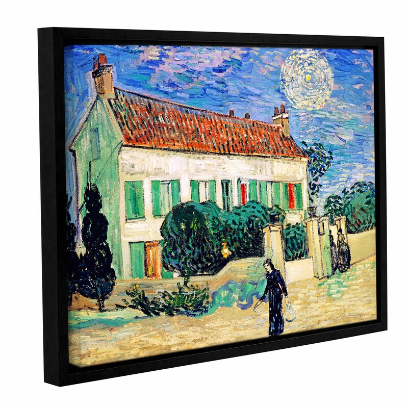 Artwall The White House At Night By Vincent Van Gogh