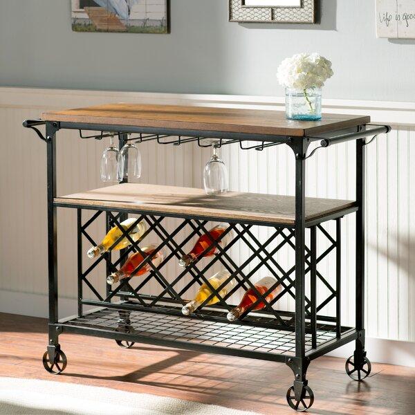 Anne Marie Bar Cart by August Grove August Grove