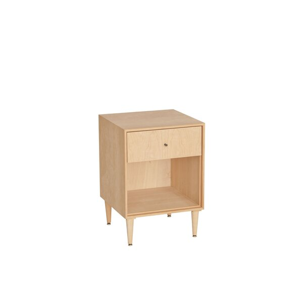 Wirth 1 Drawer Nightstand by Corrigan Studio