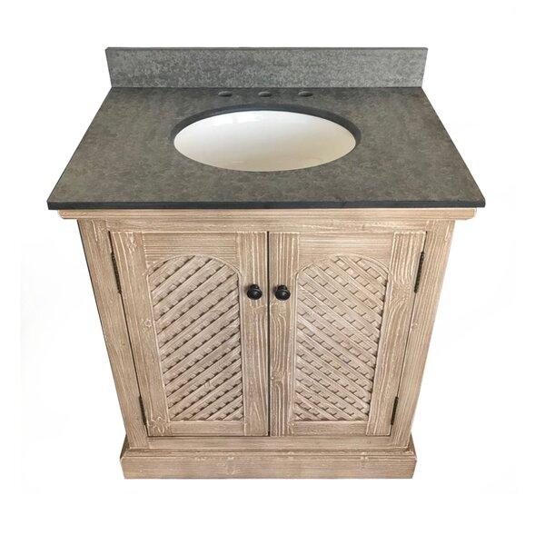 Volker Rustic Solid Fir 31 Single Bathroom Vanity Set by Millwood Pines