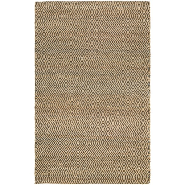 Uhlig Hand-Woven Linen Area Rug by Bungalow Rose