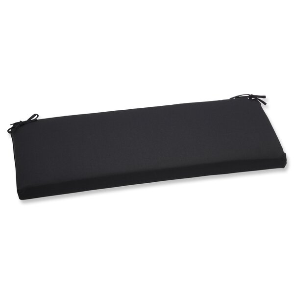 Canvas Indoor/Outdoor Sunbrella Bench Cushion by Pillow Perfect