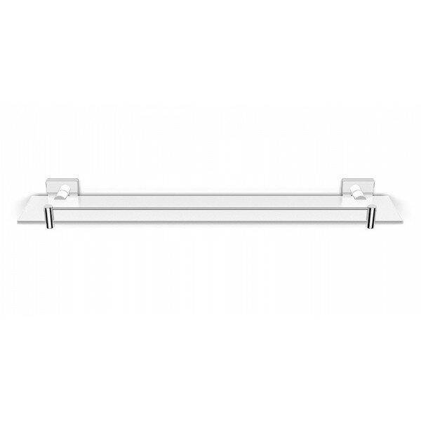 Hohl Glass Wall Shelf by Orren Ellis