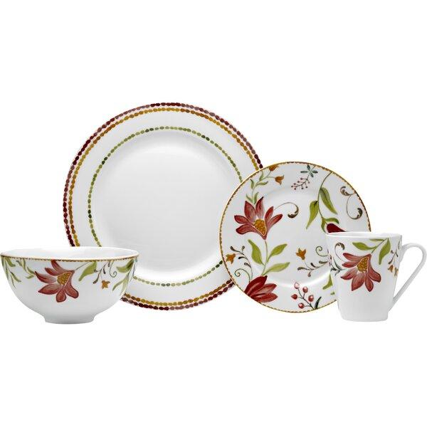 Italian Cypress 16 Piece Dinnerware Set, Service for 4 by Oneida