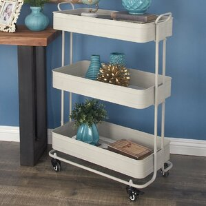 Metal Bar Cart by Cole & Grey