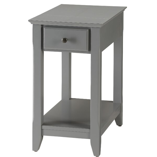 Ronaldo End Table With Storage By Alcott Hill