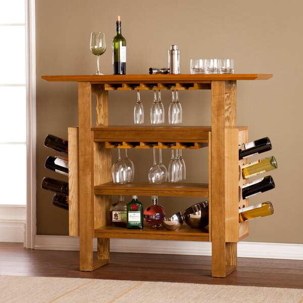 Wapanucka Bar with Wine Storage by Loon Peak