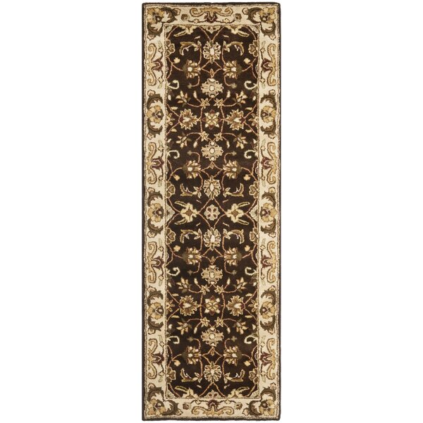 Royalty Chocolate/Beige Rug by Safavieh