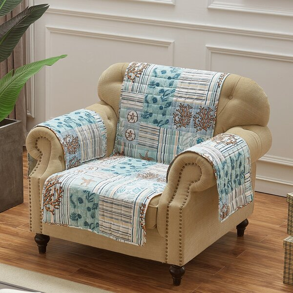 Stannard Box Cushion Armchair Slipcover By Highland Dunes