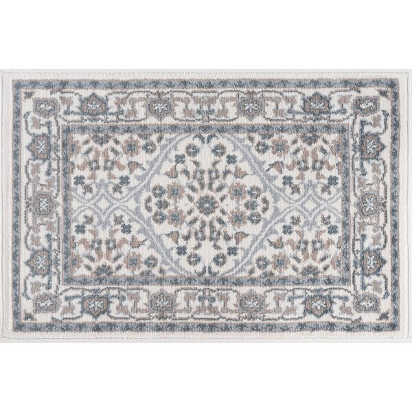 Dolphus Oriental Cream Area Rug by Darby Home Co