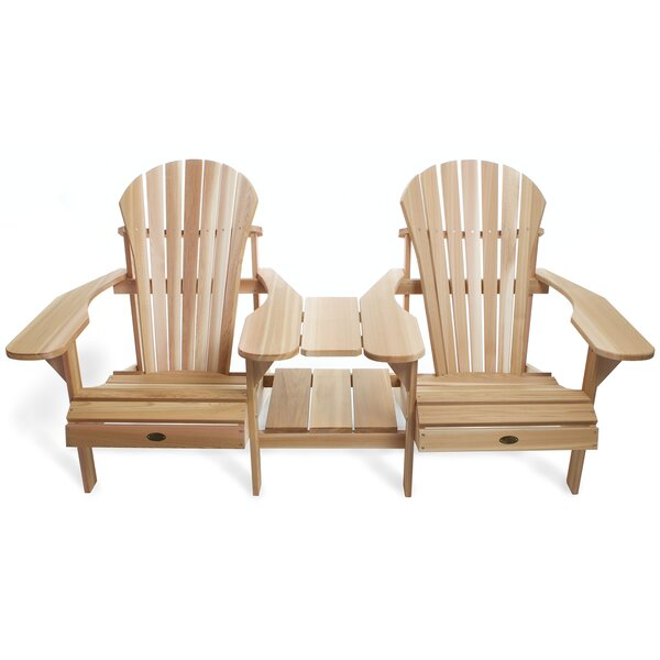 Adirondack Tete-a-Tete Seating Group by All Things Cedar