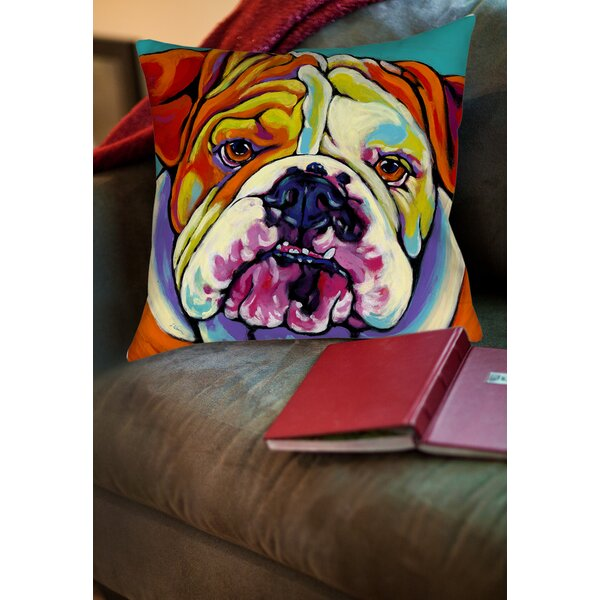 Maggie Printed Throw Pillow by Manual Woodworkers & Weavers