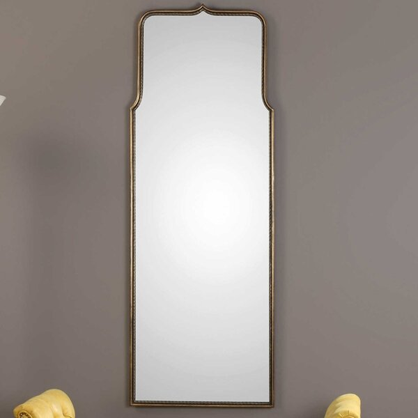 Vertical Wall Mounted Accent Mirror by Everly Quinn