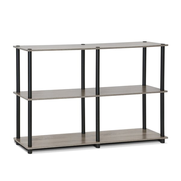 Turn-N-Tube 3-Tier Double Size Storage Display 30 H Shelving Unit by Furinno