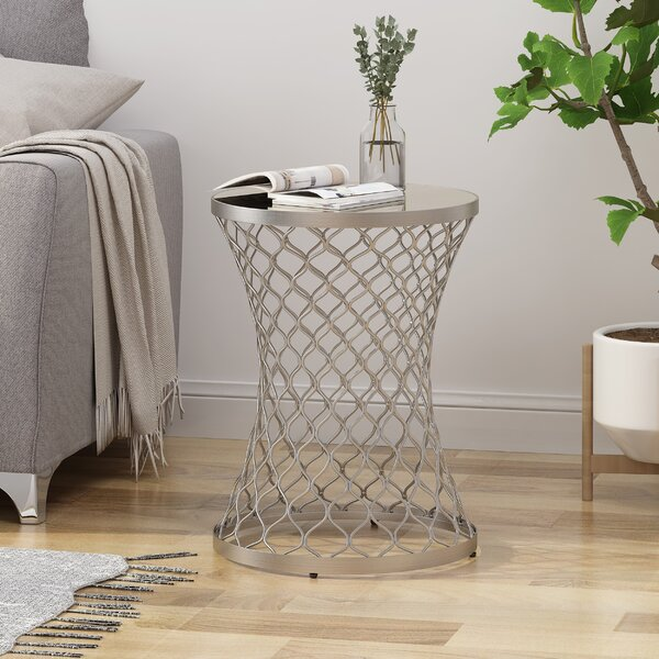 Aronson End Table by Ivy Bronx Ivy Bronx