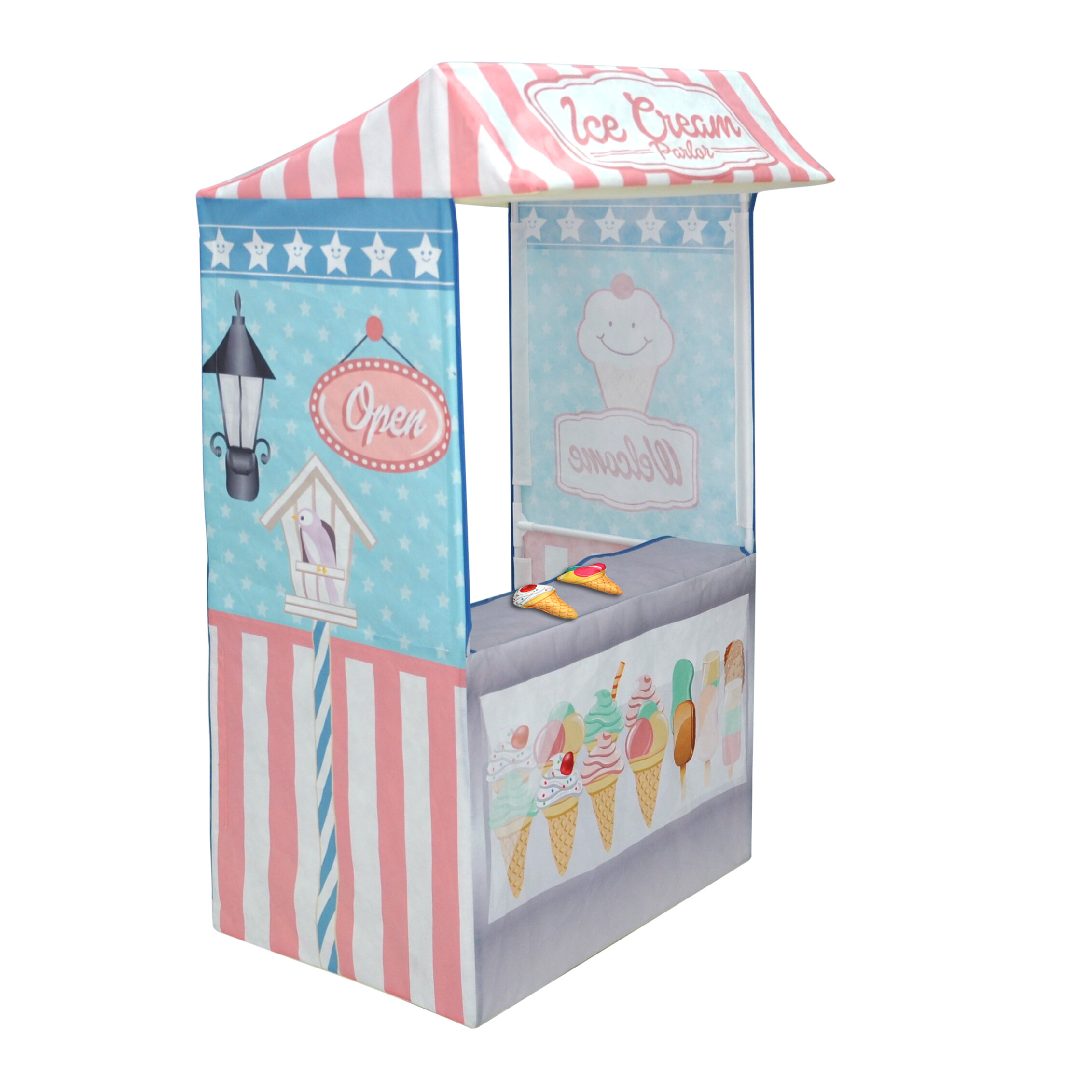 Checkey Limited Ice Cream Parlor Play Tent & Reviews | Wayfair