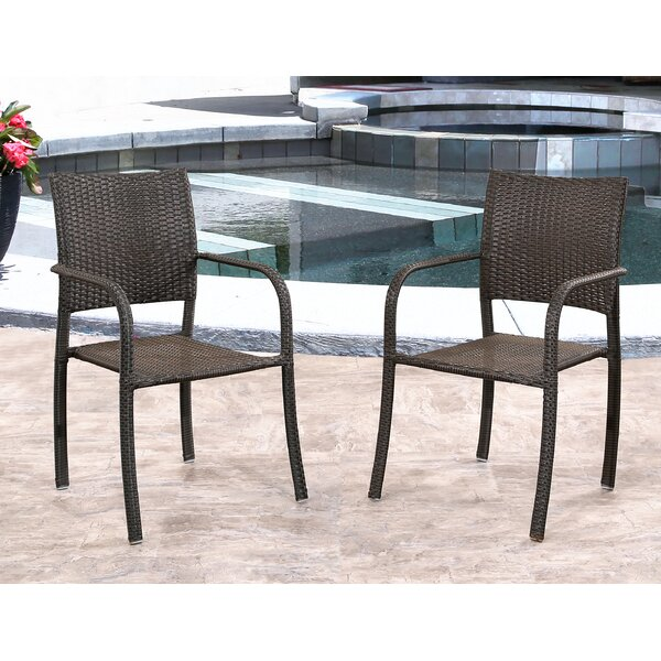 Jakob Patio Chair (Set of 2) by Wade Logan