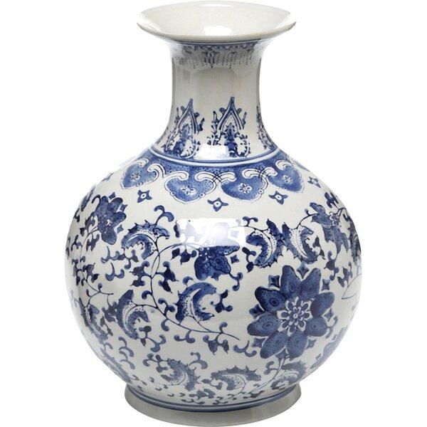 Lagrange Floral Vase by Three Posts