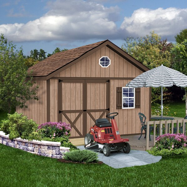 Brandon Window Solid Wood Storage Shed by Best Barns