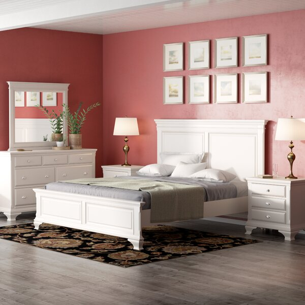 Shenk Standard 5 Piece Bedroom Set by Winston Porter
