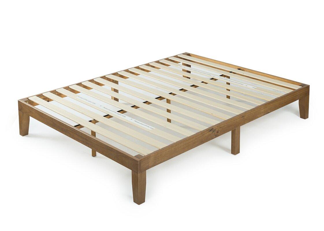 Ebern Designs Nageshwar Platform Bed Reviews: Kerstin Wood Platform Bed & Reviews