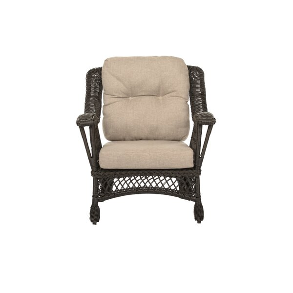 Chattahoochee Garden Patio Chair with Cushions by August Grove