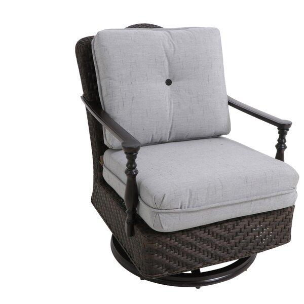 Bungalow Swivel Patio Chair with Cushion (Set of 2) by Paula Deen Home Paula Deen Home
