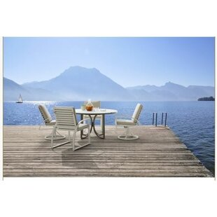 Dani Outdoor Round 5 Piece Dining Set By Highland Dunes
