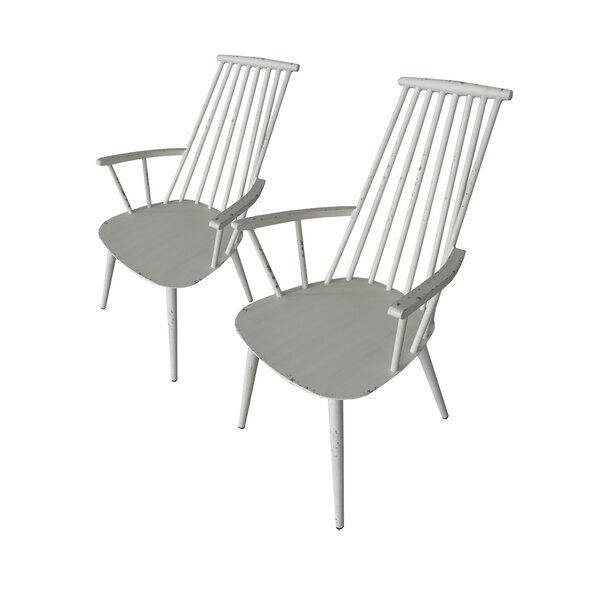 Bluestone Patio Dining Chair (Set of 2) by Bungalow Rose