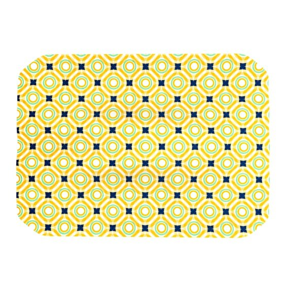 Tossing Pennies II Placemat by KESS InHouse